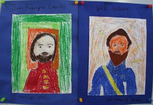 cabrillo drake portraits CABRILLO MONUMENT